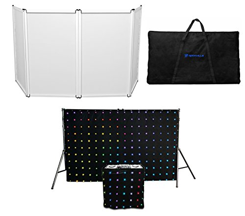 Chauvet DJ MotionSet LED Backdrop/Motiondrape/Motion Booth + Free DJ (57w Single Light)