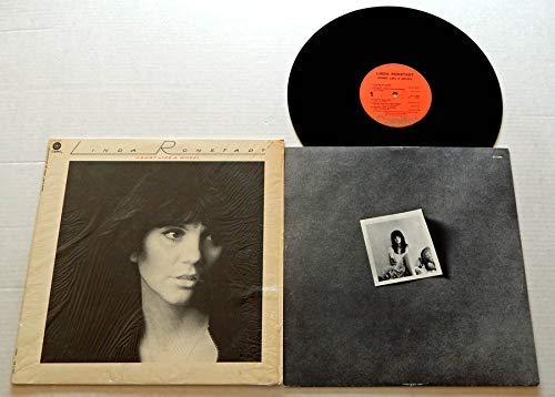 Linda Ronstadt Heart Like A Wheel - Capitol Records 1974 - Used Vinyl LP Record - 1974 Pressing - You're No Good - When Will I Be Loved - You Can Close Your Eyes - It Doesn't Matter Any More (Linda Ronstadt Heart Like A Wheel Vinyl)