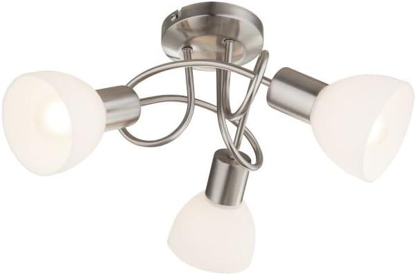 Techo Foco de Techo Spot – Lámpara de techo (3 focos Foco Lámpara ...