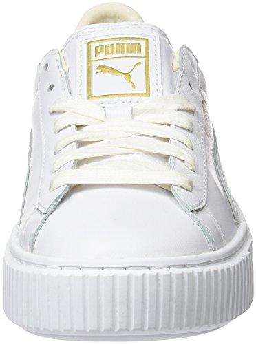 Puma Basketplatform Kern Dames Trainers Wit