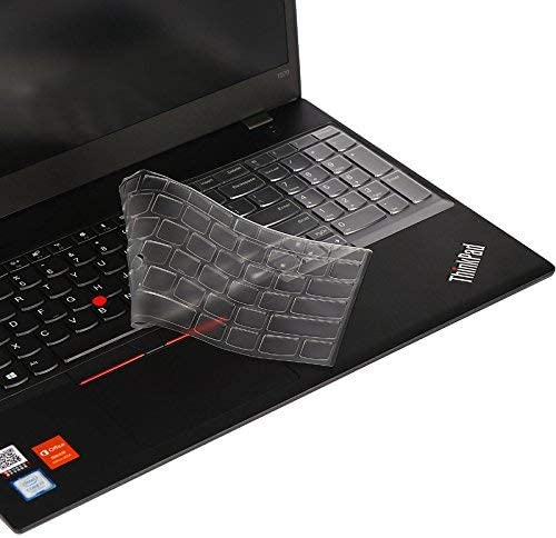 Premium Ultra Thin Keyboard Cover for 15.6 Thinkpad T570 T580 T590 E590 E580 E585 P51S P52 P52S Laptop TPU