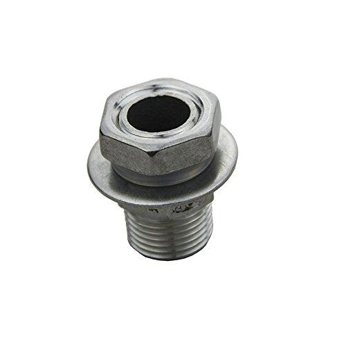 Weldless Bulkhead Stainless Steel Fitting for Homebrew Kettle/Keg 1/2 BSP UP100