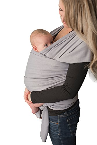 Amazon Com Baby Wrap Carrier Easy To Put On Swaddle Blanket For