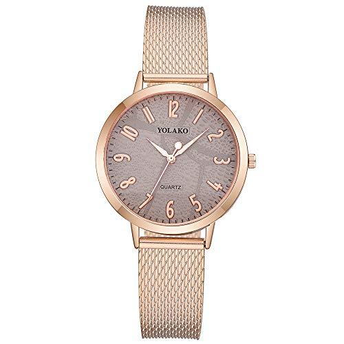 Watch Mesh Ladies Stretch - liuxuelifg3✿Classic Analog Quartz Watches for Women On Sale Clearance,Simple Mesh Band Round Rhinestone Dial Luxury Dress Wrist Watch
