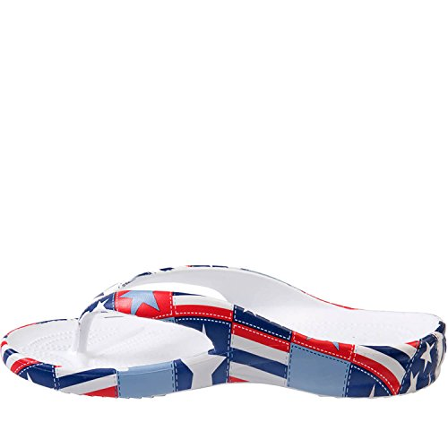 Dawgs Hombres Loudmouth Chanclas Betsy Ross