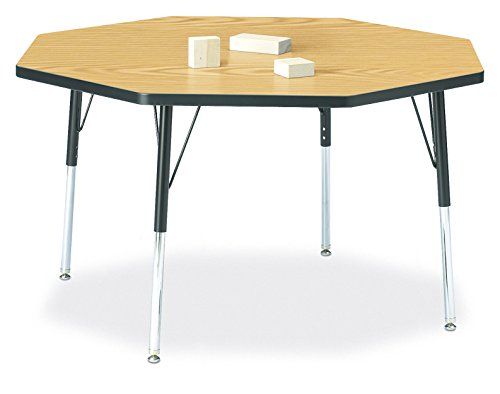 Berries 6428JCA210 Octagon Activity Table, A-Height, 48