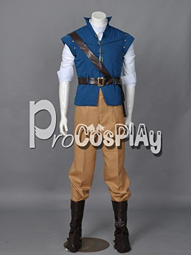 (Procosplay)Tangled Flynn Rider Cosplay Costume mp001594]()