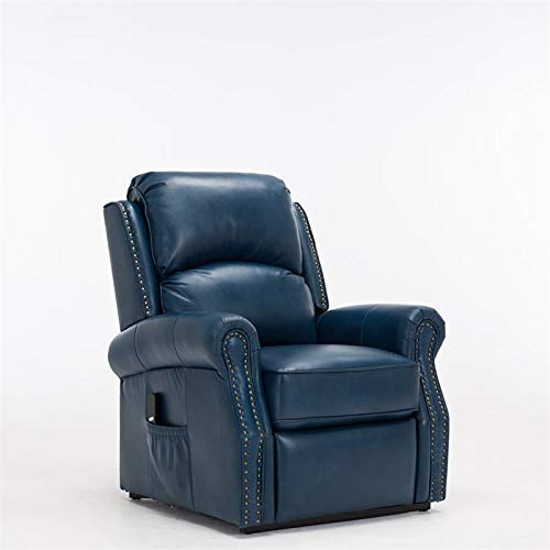 Comfort Pointe Crofton Navy Blue Lift Chair (Navy Blue Chair Recliner)