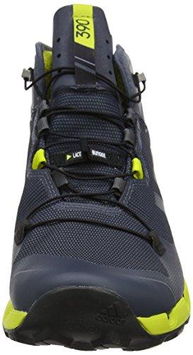 Adidas Terrex Herren Rapide Mi-gtx Surround Cross-trainer, Schwarz, 43,3 Eu Grau (grigio Onix / Onix / Limuni)