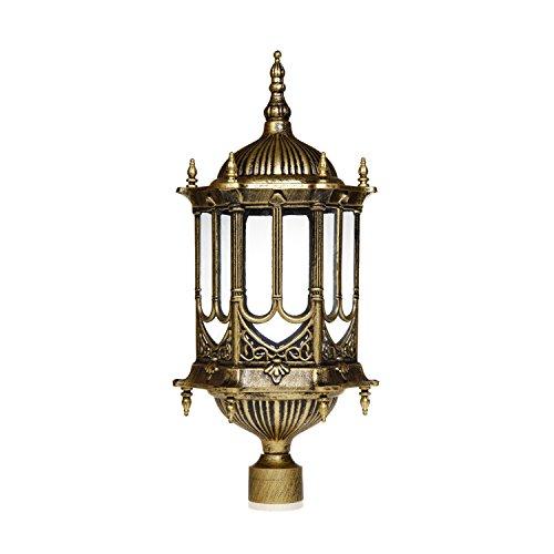 Fancy Outdoor Post Lights: Homestia Post Decorative Patio Light 110V Royal Style