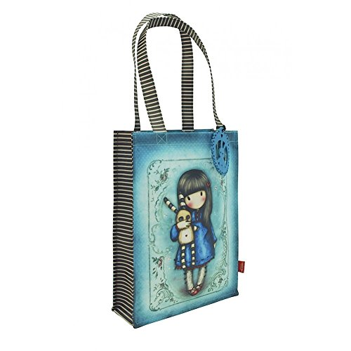 Gorjuss Coated Shopper Bag - Hush Little Bunny