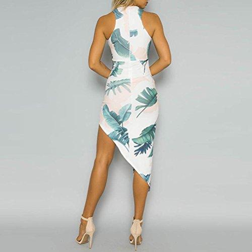 Sexy Mujer Vestidos Verano Vestidos Vestidos Blanco Lapiz Mujer Vestido De Tirantes Tubo Mujer Ajustados Verano AIMEE7 asimétrico Vestidos Fiesta Vestido Estampado Vestidos Mujer De 0ICYxRqwd0