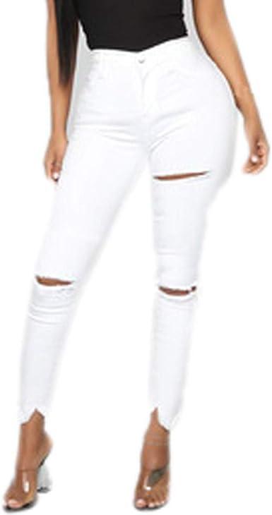 Pantalones De Mujer Rotos Moda Off 55