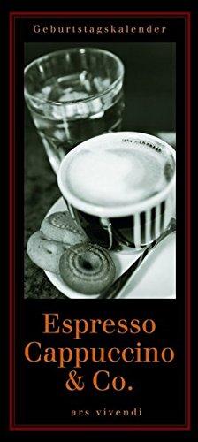 Geburtstagskalender Espresso, Cappuccino & Co. (immerwährend)