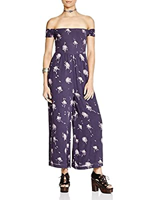Free People Women's Aster Off-The-Shoulder Jumpsuit