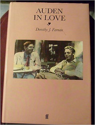 Book Auden in Love