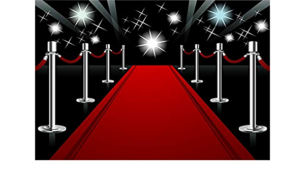SZZWY 7x5ft Red Carpet Photography Backdrop for Wedding Party Hollywood Award Ceremony Decor Movie Premiere Decor Filmfest Background Glitter Flashlight Adults Kids Portrait Photo Studio Props