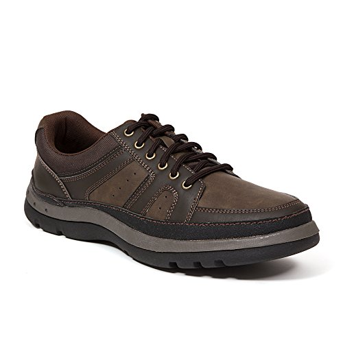 e Brown Casual Oxford 9.5 W (3E) US ()