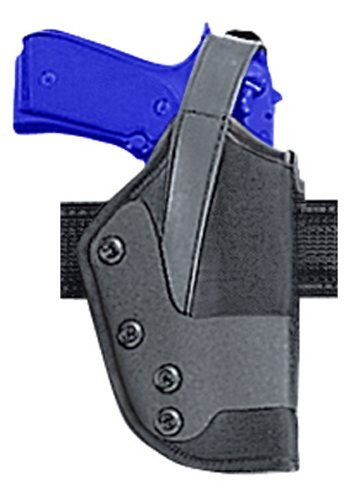 Dual Retention Nylon Holster (Uncle Mike's Kodra Nylon Standard Dual Retention Duty Jacket Holster (20, Right Hand))