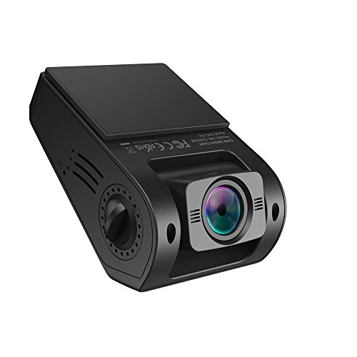 VAVA Dash Cam VA-CD008 with 1080P 30fps 160 Degrees Wide Angle Lens, WDR, Loop Recording – Dual USB Port Charger Included