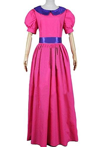 XCOSER Princess Bubblegum Cosplay Costume Fancy Dress for Women -