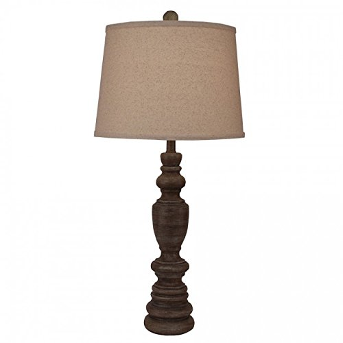 Coast Lamp Manufacturer 16-B21B Greywood Multi Ringed Candlestick Table Lamp from Coast Lamp Manufacturer