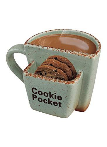 Simple & Co Volar Ideas 10oz Cookie Pocket Mug - Mint Green