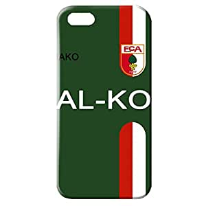 FC Augsburg Logo Phone Case for Iphone 5/5S 3D Hard Black Plastic Cover