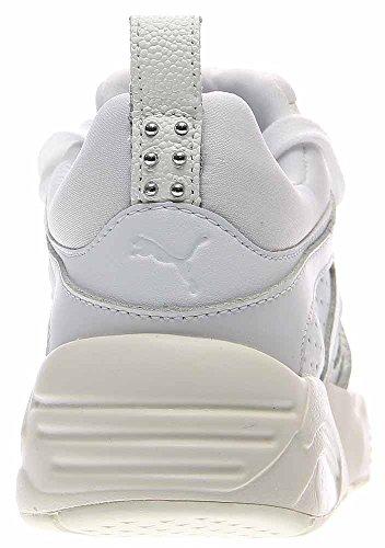 Puma Women's Blaze Of Glory Decor White/Whisper White Ankle-High Fashion Sneaker - 6.5M s1jfpi4Us