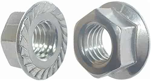 316 Stainless Steel Hex Jam Nut ASME B18.2.2 Plain Finish 1-1//2 Width Across Flats 35//64 Thick 1-14 Thread Size
