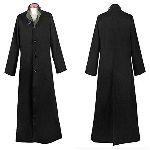Darker Than Black Costume Mask (Darker Than Black Hei Cosplay Costume Outfit Jacket Coat Windbreaker Gowns)