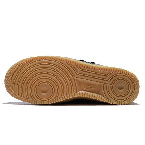Nike Mens Sf Af1 Mid, Nero / Nero-gomma Marrone Chiaro, 12,5 M Us