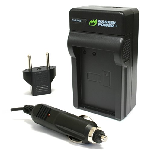 Sony Cybershot DSC-T30, DSC-T50 - Replacement Battery Charger (Incl. Car Plug Adapter)