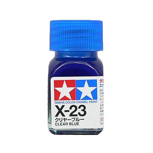 エナメル X-23 クリヤーブルー