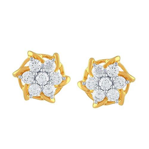 Giantti Diamant pour femme pendantes Boucles d'oreilles (0.7CT, VS Clarté, Gh-colour)