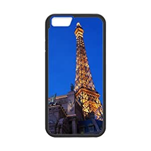 Yearinspace eiffel tower 5 iPhone 6 Plus Cases, Girls Protective Iphone 6 Plus Case For Men {Black} Kimberly Kurzendoerfer