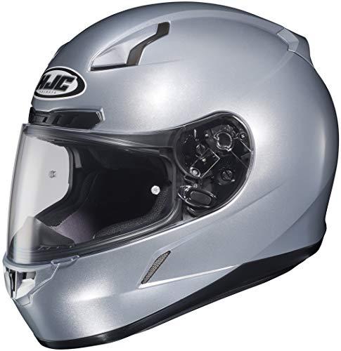 HJC CL-17 Helmet (XX-LARGE) (SILVER) (Top 10 Best Helmets)