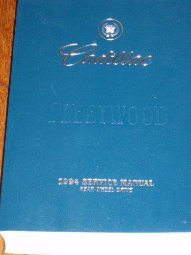 Cadillac Fleetwood Wheel (Cadillac Fleetwood 1994 Service Manual, Rear Wheel Drive)