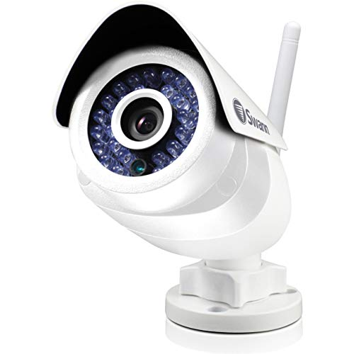 Swann SWADS-466CAM-US ADS-466 Indoor and Outdoor Wi-Fi Security Camera with Smart Alerts (White) by Swann