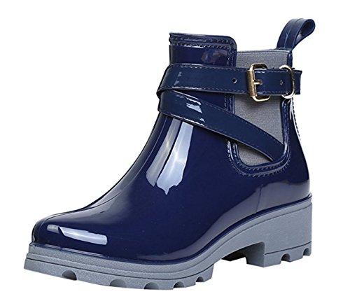 rain boots blue - 8