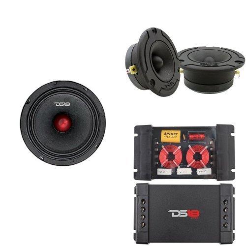 DS18 8'' 2-Way Advanced Car Audio Sound Quality Component Set