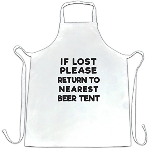If Lost Return To Beer Tent Festival Summer Drinking Party Apron