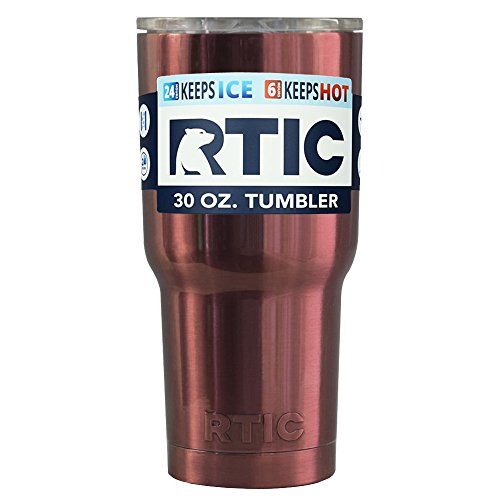 RTIC Copper Translucent 30 oz Stainless Steel Tumbler Cup