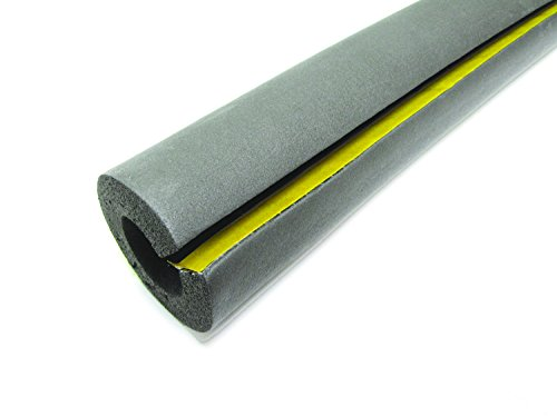 Wj Dennis Amp Company Pc1 Poly Foam Pipe Cover For 1 2 Inch