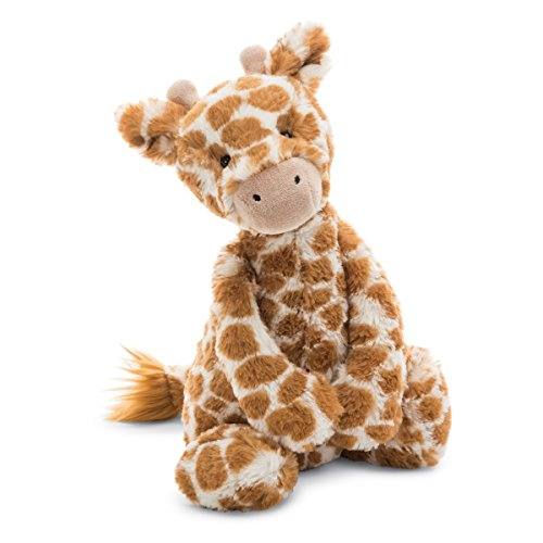 - Jellycat Bashful Giraffe Stuffed Animal, Medium, 12 inches