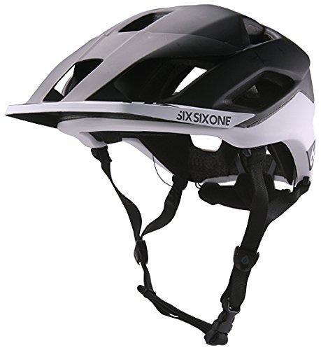 SixSixOne - Evo Am Patrol Bike Helmet, CPSC, Black/White,