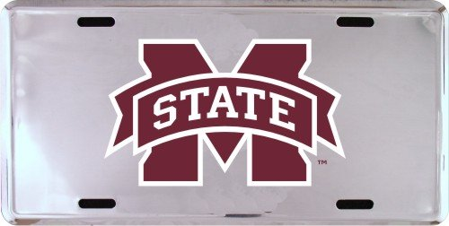 HangTime MISSISSIPPI STATE Super Stock Metal License Plate 6 x 12