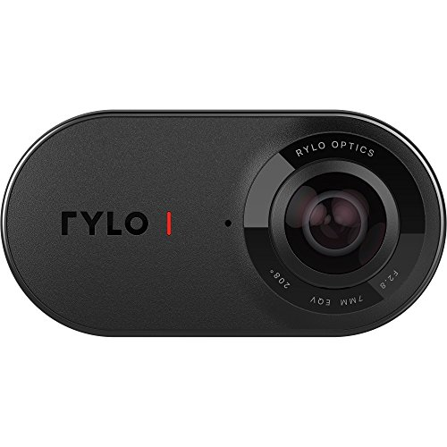 Rylo 360 Video Camera (iPhone Version) - Breakthrough stabilization, 5.8K Recording, Includes 16GB SD Card and Everyday Case from Rylo