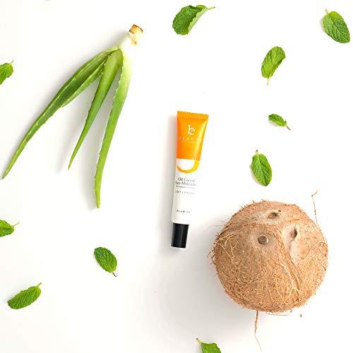 41gnVxoNqJL - Oil Control Face Moisturizer - Natural & Organic Anti Aging Facial Moisturizer for Men & Women, Best Face Moisturizer for Oily Skin or Acne Moisturizer, Mens Face Moisturizer with Hyaluronic Acid