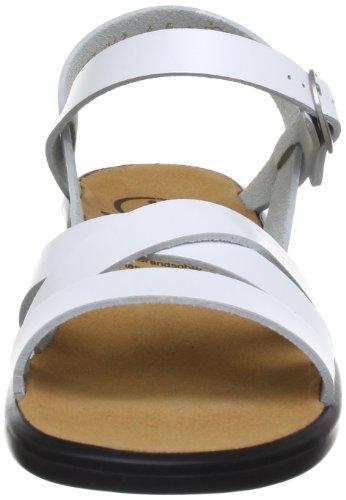 Ganter Weite 02000 weiß0200 Donna Sonnica Bianco 202811 weiß Sandali E 5 FrpFw51x